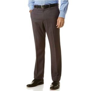 Perry Ellis Portfolio Flat-Front Pants 33x30